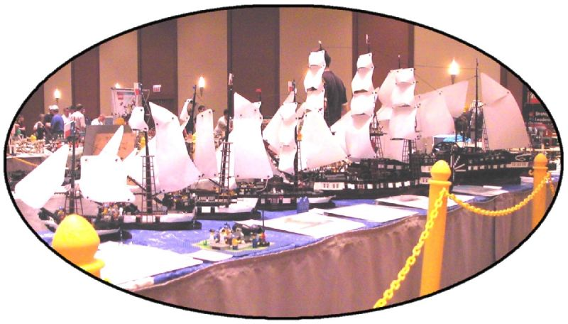 RTN LNA's fleet at Brickworld 2009
