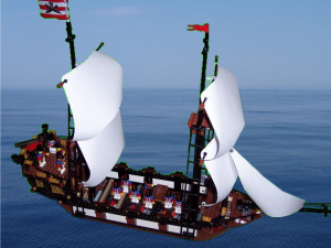 Is the new HMS Venture able to defeat Brickbeard's Bounty?