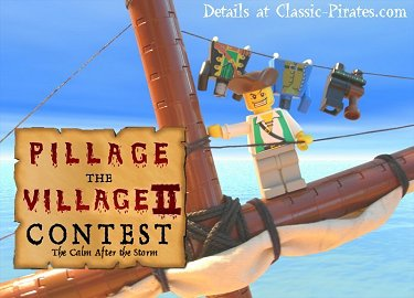 Pillage the Village II Contest on Classic-Pirates.com