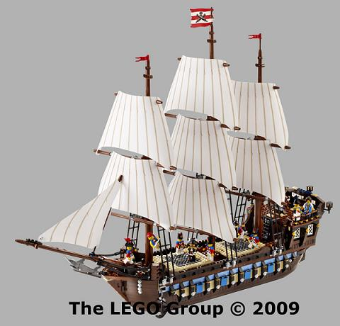 The mighty Imperial Flagship sails in 2010!