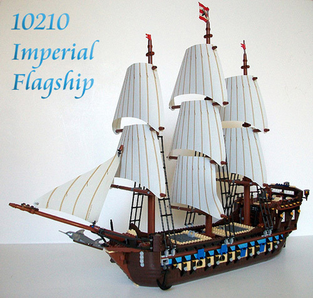Svelte is the first AFOL to review the new 10210 Imperial Flagship. Check it out exclusively in the Pirates forum!