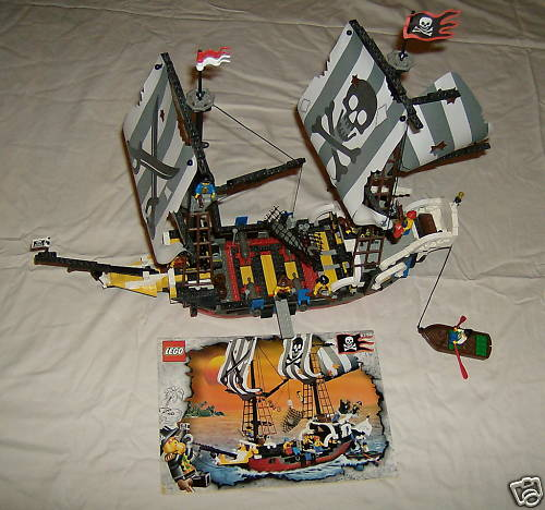 Go get this LEGO 6290 Red Beard Runner Pirate ship from eBay today!