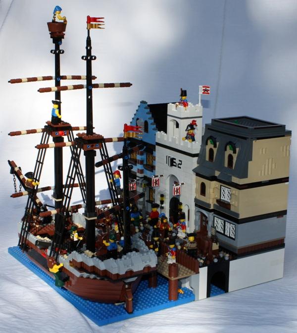 A peaceful port in 1762