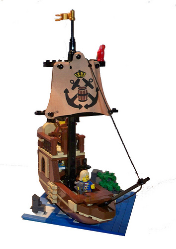 A very handy ship!