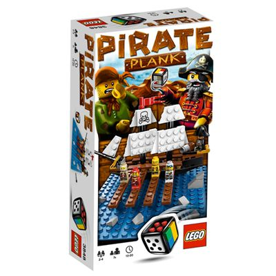 Pirate Plank, a new 2010 LEGO pirates-themed game.
