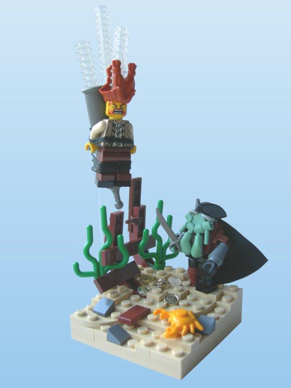 Welcome in Davy Jones' Locker!