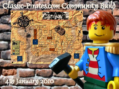 Join us with the very first Classic-Pirates and Eurobricks community build!