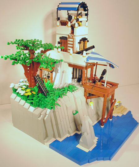 Sanctuary by the Sea Pirate MOC