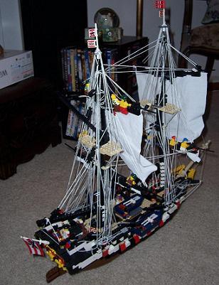 HMS Brunswick by lego fox