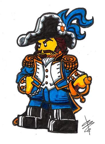 Capt. Bregan Houndberg by Hound Knight