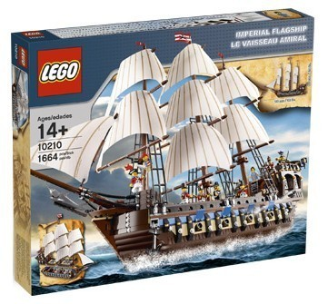 Buy this 10210 Imperial Flagship from LEGO Pirates on eBay!