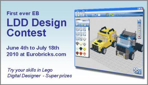 The First ever Eurobricks Lego Digital Designer contest