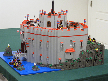 A massive Imperial fortress