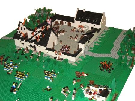 Battle of La Haye Sainte, a Lego creation by DanMov