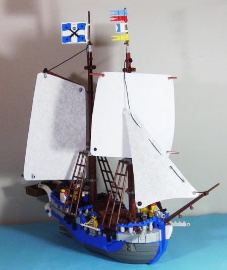 The Supply Tender Ratsee - a Lego creation by Legeaux