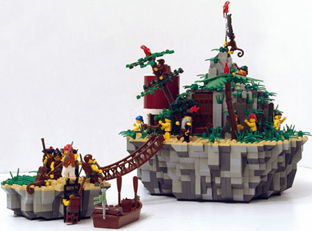 A secluded Pirate getaway