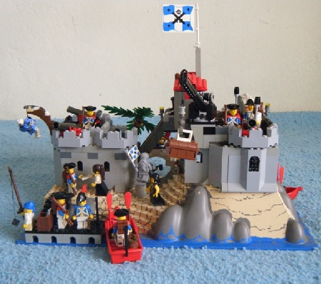 Soldiers' fort - a Lego creation by Brig. Brick