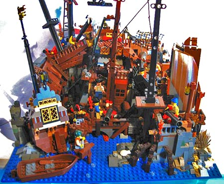 """Click"" here to comment on this MOC in the Pirate Forum"