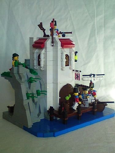The Little Outpost for the Imperial Guards - a LEGO creation by Nick McLego