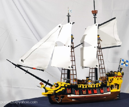 Imperial Soldiers' ship The Mermaid II - a Pirate LEGO creation by Pujo