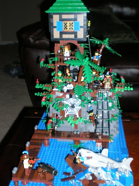 Prison Tower, a LEGO Pirates island-based MOC by CCOOK