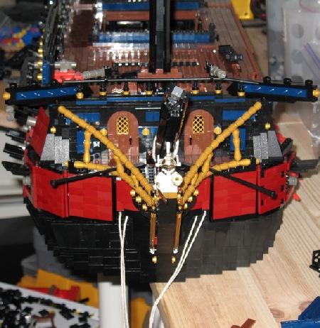 Phantom MkII by ZCerberus, a work in progress LEGO ship