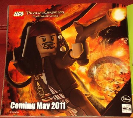 A first gaze at Pirates of the Caribbean in 2011 LEGO catalogue