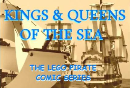 comics pirates cannons story stories bricks ships sailing battle sailors