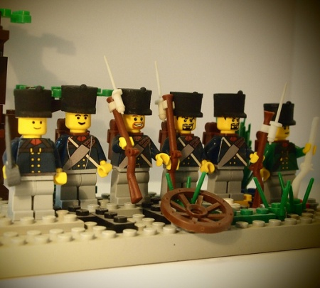 Custom Prussian LEGO minifigs made by woody64
