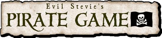 Evil Stevie's Pirate Game Logo