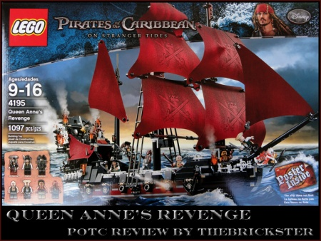 TheBrickster's review of LEGO set 4195 Queen Anne's Revenge