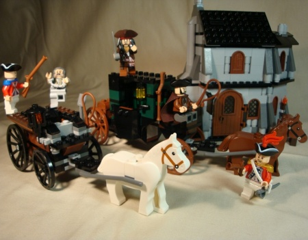 4193 The London Escape - LEGO Pirates of the Caribbean set review by gatorzip02