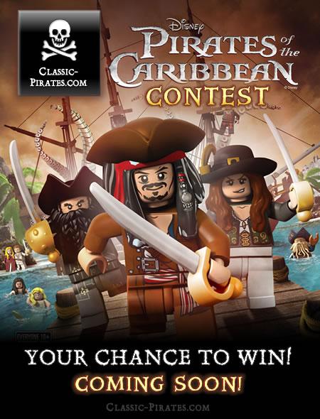 LEGO Pirates of the Caribbean Contest