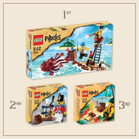 Picutre Challenge LEGO Prizes