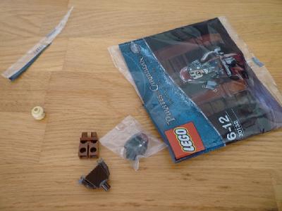 jack sparrow minifigure set polybag special rare pirates caribbean rum parts pieces wooden