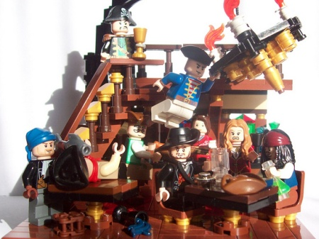 Swingers Party - a LEGO Pirates of the Caribbean MOC by TazManiac