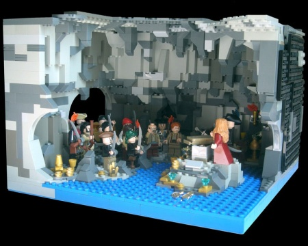 Isla de la Muerta, a LEGO Pirates of the Caribbean contest entry by MstrOfPppts