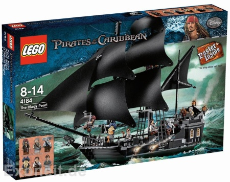 Picture of LEGO set 4184 The Black Pearl