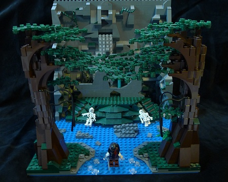 Fountain of Youth by Cecilie, a LEGO Pirates of the Caribbean building contest entry