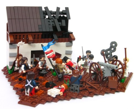 The release of Yorktown, a land-based historical LEGO MOC by TheBrickAvenger