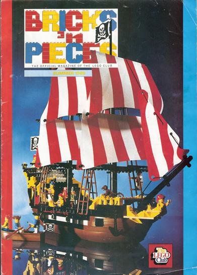 ship magazine year pirates eyepatch bricks pieces moustache contest comic