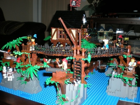 Pirate Trading Post, a land-based LEGO creation by CCOOK