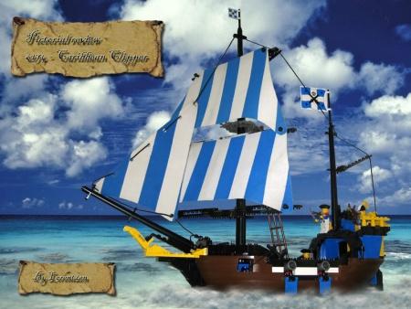 6274 Caribbean Clipper - a LEGO Pirates set reviewed by Lorentzen