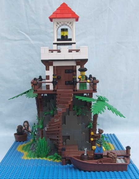 The Lighthouse, a pirate-themed LEGO creation by Daniel G
