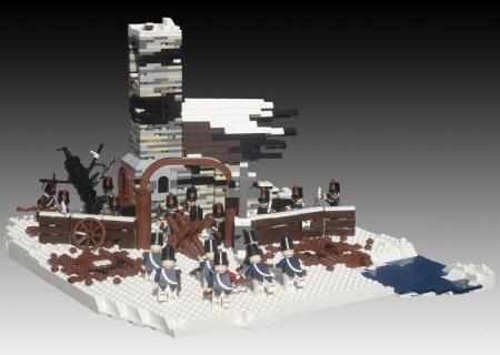 The Battle of Eylau, a historical LEGO MOC by TheBrickAvenger