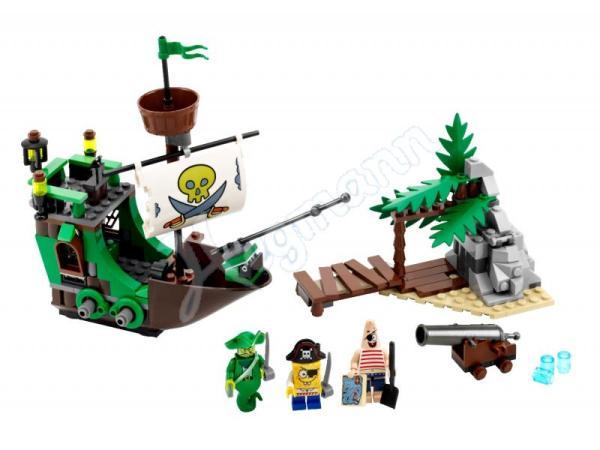 3817 The Flying Dutchman LEGO set from Spongebob theme