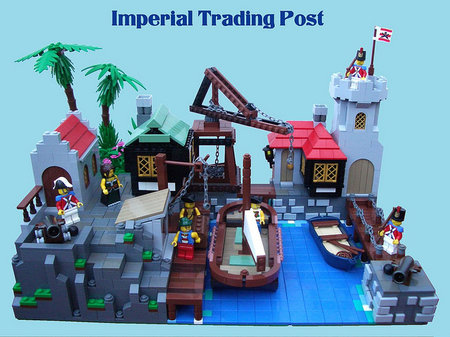 LEGO Pirate Imperial Trading Post MOC 2 Much Caffeine