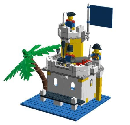 LDD versions of LEGO Idea Book sets made by Skipper
