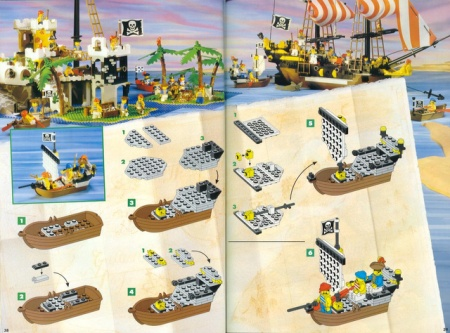 Alternate sets and instructions from LEGO Idea Books of 1990s
