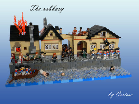 LEGO Pirate MOC The Robbery by Corioso